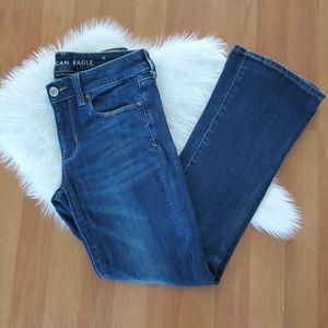 American Eagle skinny kick jeans Size 6 Short